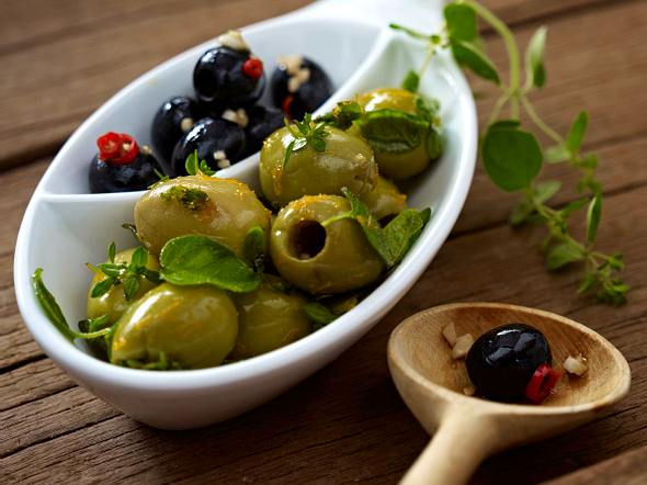 Gewürzte Oliven Rezept