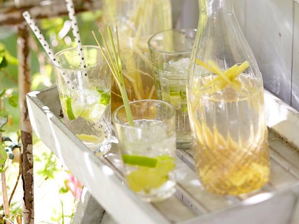 Ginger-Limonade Rezept