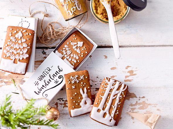 Gingerbread Winter-Wonderland Rezept