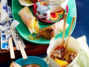 Glasnudelsalat mit Tofu Rezept