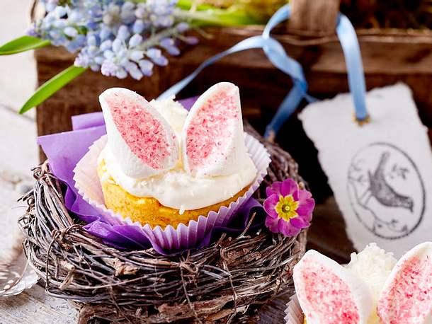 Glitterhäschen-Muffins rezept
