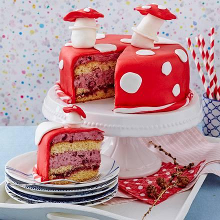 Glückspilz-Torte Rezept