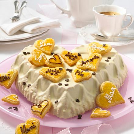 Glückwunsch Herz-Torte Rezept