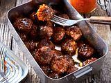 Glüh-Meatballs für zwischendurch Rezept