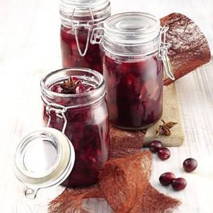 Glühwein-Cranberries Rezept