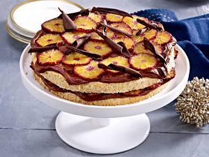 Glühwein-Orangen-Torte Rezept