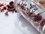Glühweinsalz und rosa Nougat Rezept