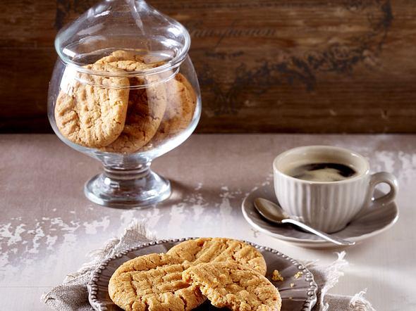 Glutenfreie Erdnussbutter-Cookies Rezept