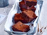 Glutenfreie und fettarme Avocado-Brownies Rezept