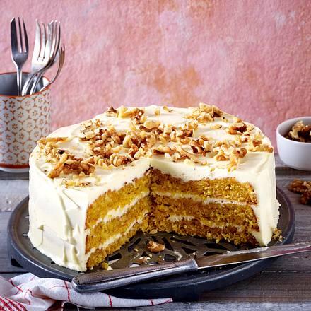 Glutenfreier Mohrenkuchen Mit Frischkase Frosting Rezept Lecker