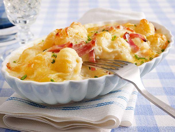 Gnocchi & Cheese mit gekochtem Schinken Rezept