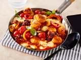 Gnocchi-&-Cheese-Pfanne mit Ratatouille-Begleitung Rezept