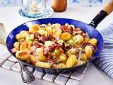 Gnocchi-Fleischwurst-Pfanne Rezept