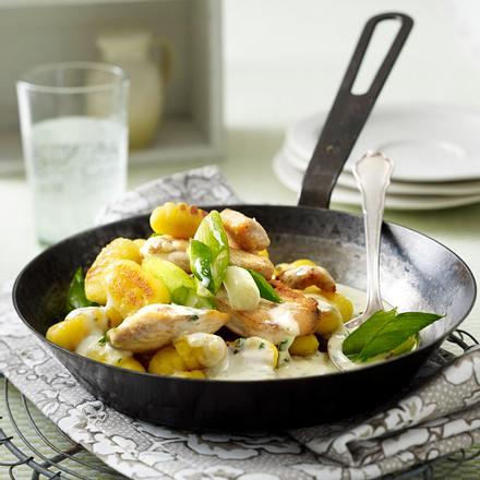 Gnocchi-Hähnchen-Pfanne Rezept