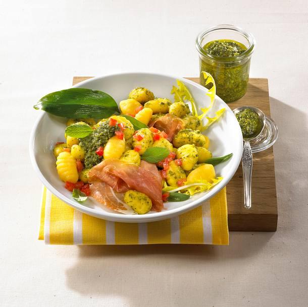 Gnocchi mit Kräuter-Pesto Rezept