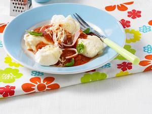 Gnocchi mit Tomaten-Schinken-Soße Rezept