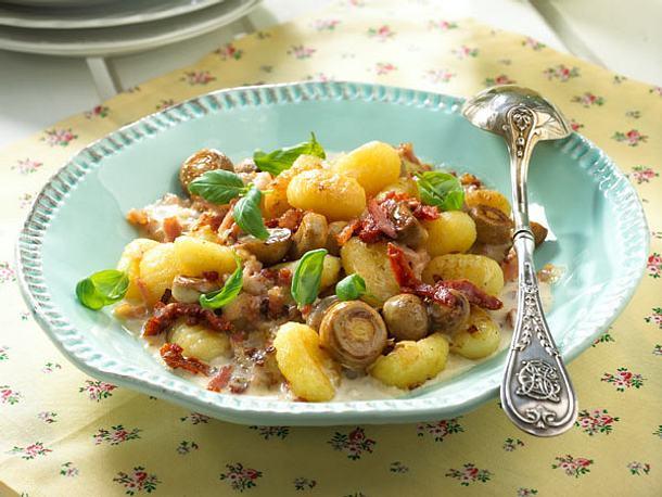 Gnocchi-Pilz-Pfanne Rezept