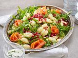 Gnocchi-Salat mit Lachs Rezept