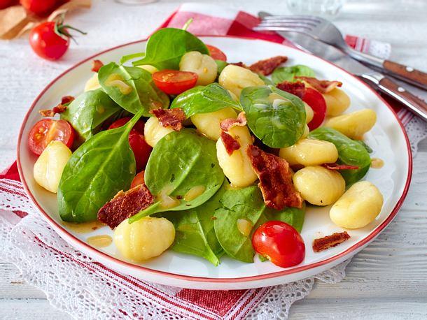 Gnocchi-Spinat-Salat Rezept