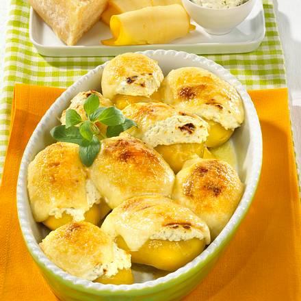 Goldbraune Käse-Kartoffeln Rezept