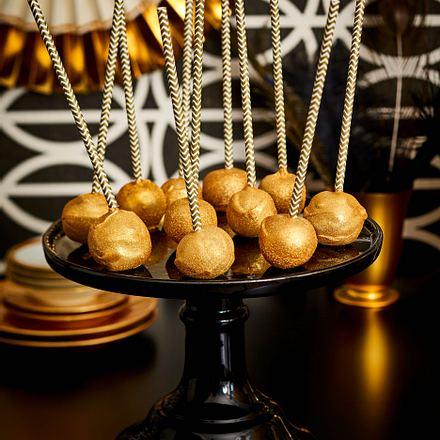 Golden-Choco-Pops Rezept