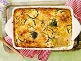 Goldener Zucchini-Reis-Auflauf Rezept