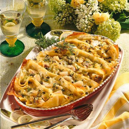 Gourmet-Lasagne Rezept