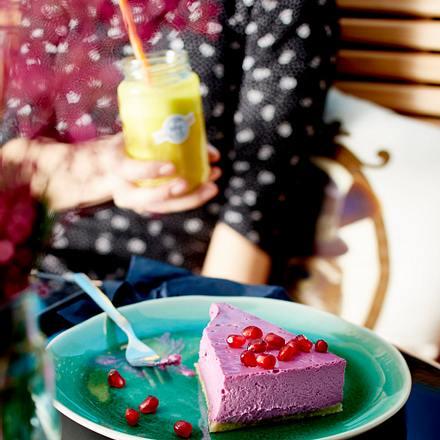 Granatapfel-Cheesecake Rezept