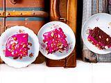 Granatapfel-Schokokuchen Rezept