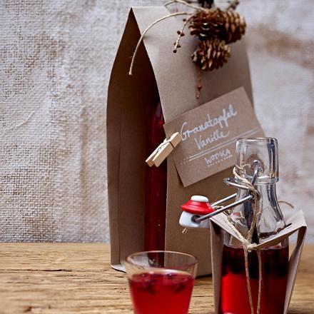 Granatapfel-Vanille-Wodka Rezept