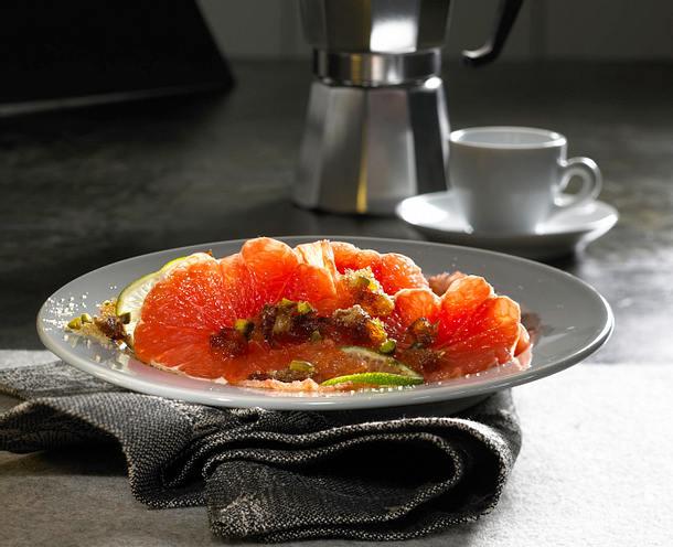 Grapefruit mit Datteln Rezept