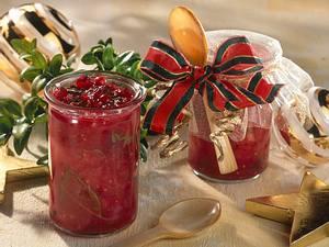 Grapefruit-Preiselbeer-Relish Rezept