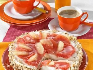 Grapefruit-Quark-Torte Rezept