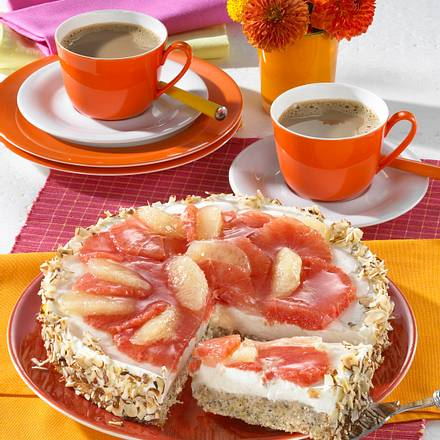 Grapefruit-Quark-Torte Rezept