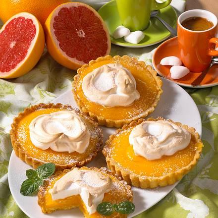 Grapefruittörtchen Rezept