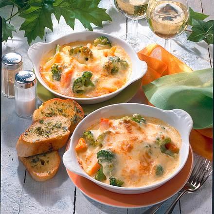 Gratinierte Broccoli-Pfännchen Rezept