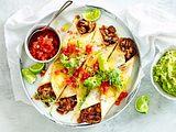 Gratinierte Burritos à la Chili con carne Rezept