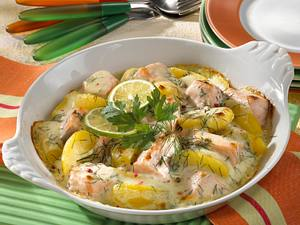 Gratinierte Dill-Kartoffeln Rezept