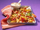 Gratinierte Potato wedges Rezept