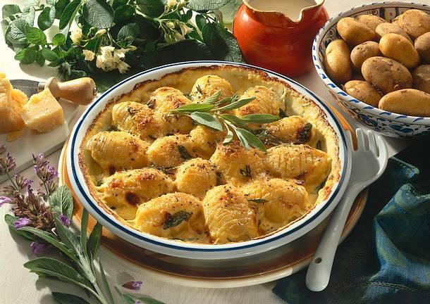 Gratinierte schwedische Kartoffeln Rezept
