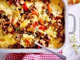 Gratiniertes Gemüse-Gyros für großen Hunger Rezept