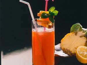 Grenadine-Ananas-Drink Rezept