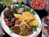 Griechische Fleischplatte Rezept