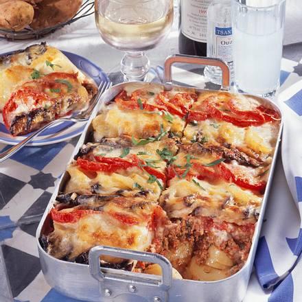 Griechische Kartoffel-Moussaka Rezept
