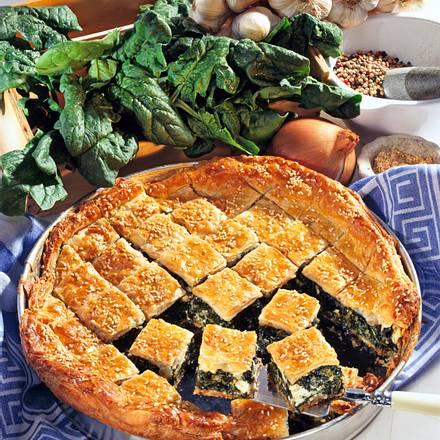 Griechische Spinat-Pita Rezept