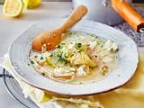 Griechische Zitronensuppe mit Hähnchen Rezept