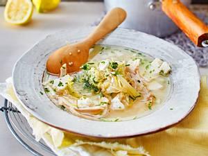 Griechische Zitronensuppe