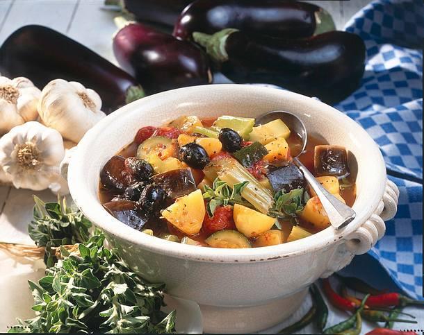Griechischer Gemüsetopf Rezept