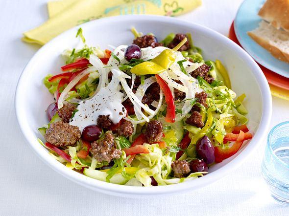 Griechischer Krautsalat mit Gyroshack Rezept