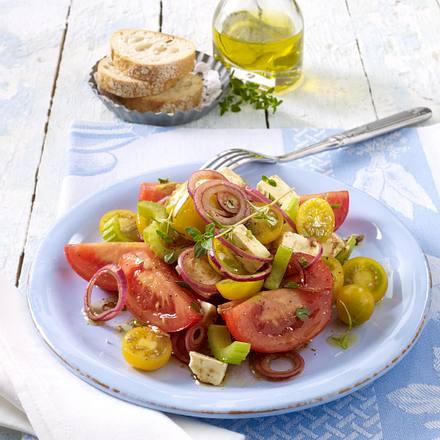 Griechischer Tomatensalat Rezept